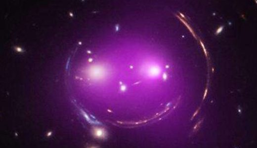 X-ray and optical image of Chesire galaxy group